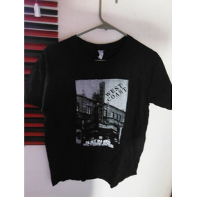 Camisa Playera West Coast Tavern Black Negra Moda Fashion