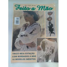 Revista Feito A Mão - Tricô Meia Estação - 16 Modelos