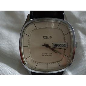 Reloj Haste Vintage Automático 25 Joyas 80´s De Colección