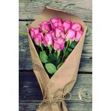 Rosas Naturales En Ramo!
