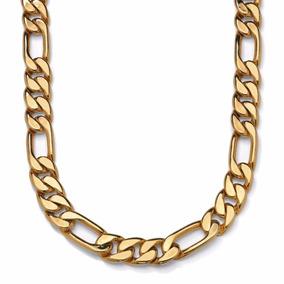 Cadena Figaro 3 X 1 Oro Macizo 10k De 65cm 250grs Solid Gold 8a787f3d2dd