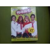 Dvd Original Rebelde Segunda Temporada. Novo Lacrado.leia