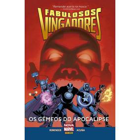 Fabulosos Vingadores Os Gêmeos Do Apocalipse Volume 1