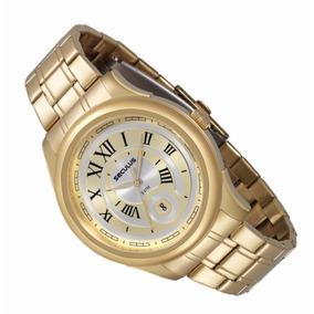631b35cd95b Seculus Classico Numeros Romanos A o - Relógios no Mercado Livre Brasil