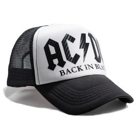 Gorra Trucker Ac-dc   Perl Jam   Black Sabbath   Metallica eb8ade3651f