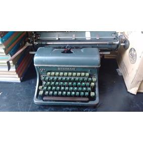 Máquina De Escrever Siemag Antiga Raríssima