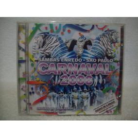 Cd Original Sambas De Enredo De São Paulo- Carnaval 2006