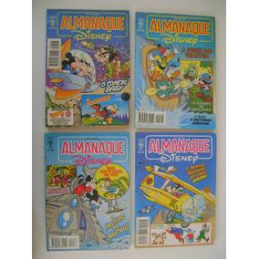 Almanaque Disney Nºs 106 Ao 379 Preço Para 4 Gibis