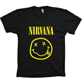 Camisas Bandas Rock - Nirvana - 100% Algodão
