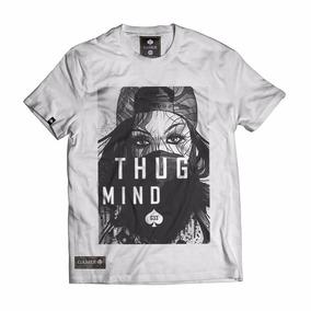 Camisa Camiseta Blusa Thug Girl Estilo Rap Hiphop Tupac Swag bf55425117d