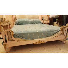 Juego De Dormitorio Luis Xvi Completo .