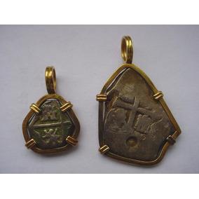 Monedas De Plata Antiguas Mexico City Año 1700-1746