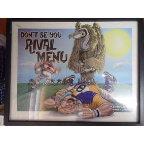 Lote Banner / Quadro Kevingston Rugby Union Importado