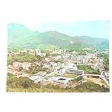 Cartão Postal Antigo Vista Parcial Valença Rio De Janeiro