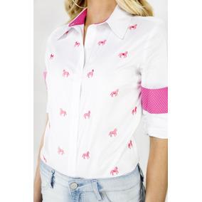 Camisa Social Feminino em Curitiba no Mercado Livre Brasil fa7ca55a3d497