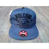 Boné Volcom Stone Republic Skate Aba Reta Com Regulagem 0518983dfe9