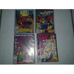 Origens Dos Super-heróis Marvel Completo Do 1 Ao 8