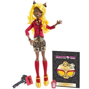 Boneca Monster High Monstros Câmera Ação Clawdia Wolf Mattel