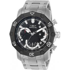59dff1942a9 Relogio Invicta 0250 Fundo Preto Masculino - Relógios De Pulso no ...