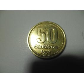 Moeda De 50 Centavos Argentina 1993