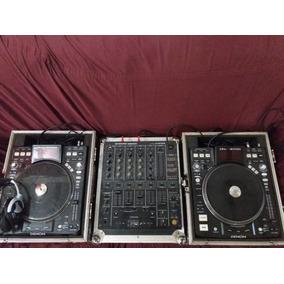 Mixer Dj Profissional Pioneer Djm - 500 Com 4 Canais