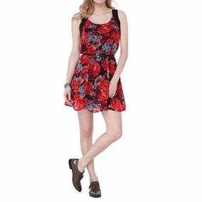 Vestido Estampados Floral Malwee - Calçados 84d26043828b5