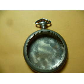 Antigua Caja Para Reloj De Bolsillo Nikel.