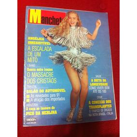 Revista Manchete 11/90 Angelica Bossa N Gaudí Ivana T Ku-k K
