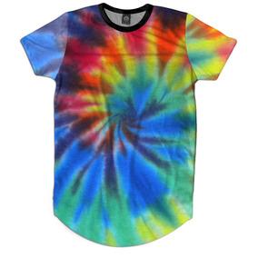 e0d4496c04 Camiseta Tye Dye Hippie Tingida - Camisetas para Masculino no ...