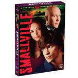 Dvd - Box Smallville: 3ª Temporada - 6 Discos