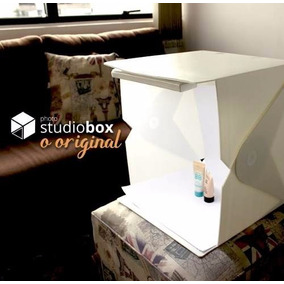 Mini Estúdio Fotográfico Photo Studio Box - Foldio