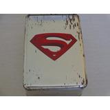 Lata De Alumínio Usada E Vazia - Coleção De Filmes Superman