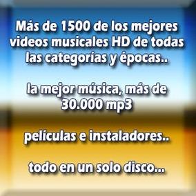 Disco Duro De 1 Tb 1800 Videos Musicales Y Mp3