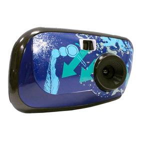 Camara Digital Vivitar Infantil Lcd Full Hd Azul Zoom Oferta