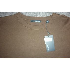 Murano Sweater Modelo Tobacco De Lujo Ligero Nuevo
