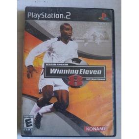 Winning Eleven 8 Ps2 Playstation Trqs Pro Evolution Soccer 8c350208dc13c