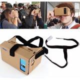 Óculos Realidade Virtual Vr Android 3d Rift Google Cardboard