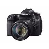 Camara Canon 70d Dslr Con Lente 18-135mm 20.2mpx Wifi