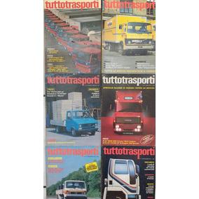 7 Revistas Tuttotrasporti Língua Italiana Importada Itália