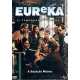 Eureka 4ª Temporada Vol.1 - Box Com 3 Dvds
