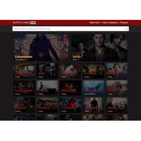 Template Filmes E Séries Online Wordpress