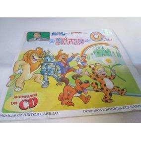 Livro O Magico De Oz Silvio Santos Volume 12 S/cd R.794