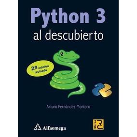 Libro Python 3 Al Descubierto - 2a Ed.