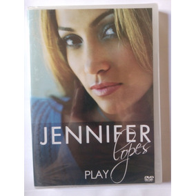 Dvd Jennifer Lopes - Play - Novo Lacrado