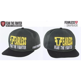 Boné Fear The Fighter Fearless Aba Reta fae7ff40dc6