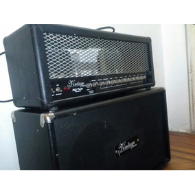 Cabezal Valvular Vintage Nu Twin 100 W + Caja 2 X 12 Permuto