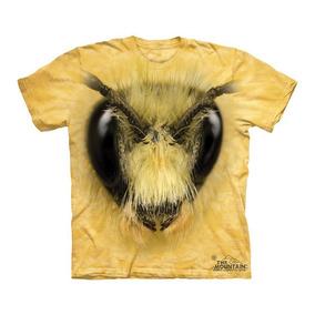Playera 4d - Unisex Infantiles - 3493 Bee Head.