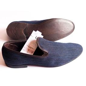 Zapatos Zara Man Europa Azules Talle 44 Nuevo