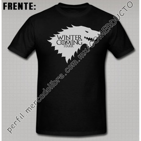 Playera Game Of Thrones House Stark Winter Is Coming Aohc