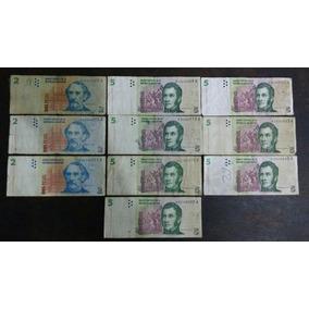 Billetes 2, 5, 10, 20 Y 50 Reposición